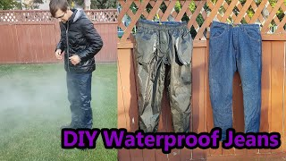 DIY Waterproof Jeans