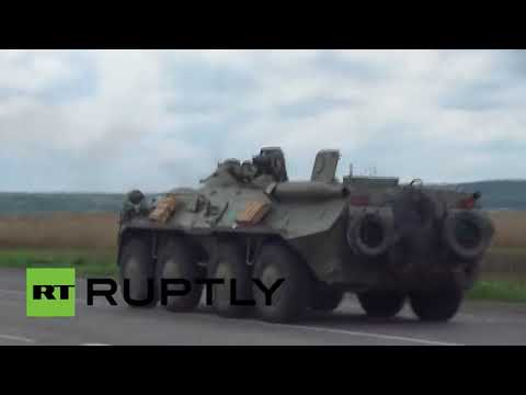 Imágenes inéditas: Combates entre el Ejército ucraniano y fuerzas anti-Kiev