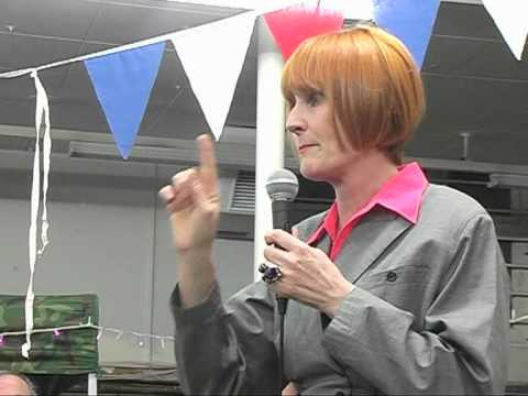 MARY PORTAS AND MARGATE