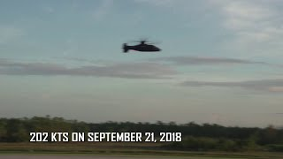 Sikorsky Raider Helicopter Hits 200 Knots