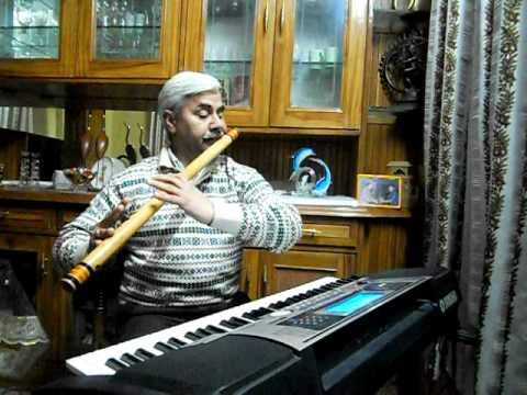 JAN GAN MAN ADHI NAYAK ON FLUTE :-BY PRITAM CHANDEL