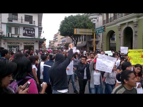 Justicia Para Ayotzinapa 23Oct2014 - Xalapa Veracruz