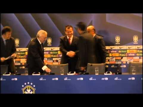 Dunga sustituye a Luiz Felipe Scolari