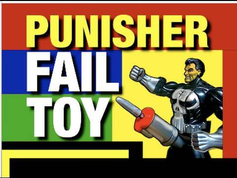 Funny Video , Punisher Epic Fail Toy Funny Review Videos by Mike Mozart @JeepersMedia