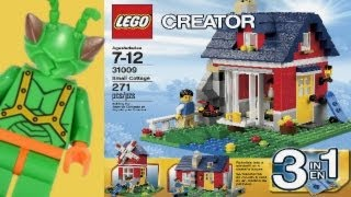 LEGO Creator 2013 Small Cottage Review 31009 (All 3 Models)