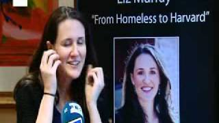 Liz Murray, from homeless teenager to Harvard graduate