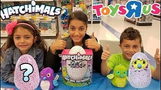 Funny Kids -  New Hatchimals Magical Surprise Egg Opening At Toys R Us!!! Kids Toy Rev - amy Calder