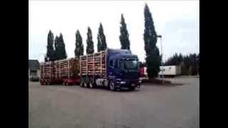 Scania V8, king of the load