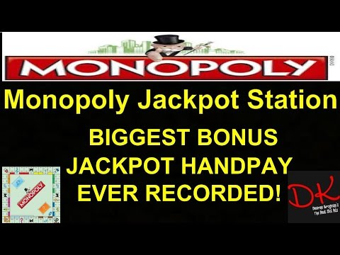 $5,000+ Monopoly Jackpot Station Max Bet Bonus!! Biggest Ever Recorded video