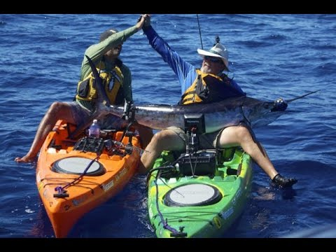 Kayak Angler Jim Sammons Fights, Lands and Releases Marlin