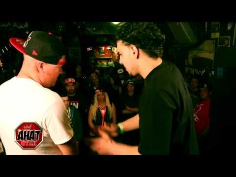 Eil Ace VS Ak rap battle | girl jumps in battle
