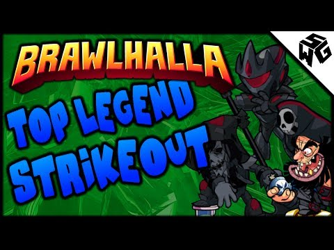 Top Legend Strikeout - Brawlhalla Gameplay :: It's Been A While