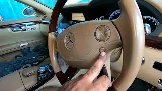 MERCEDES BENZ S CLASS AIRMATIC ENGINE STARTING IGNITION SWITCH PROBLEM FIX