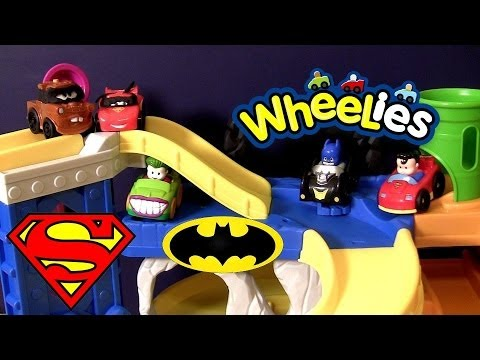Wheelies Cars Batman vs. Superman