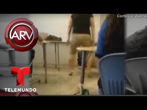 VIDEO: DENUNCIAN A MAESTRA POR BAILAR REGUETÓN EN CLASES