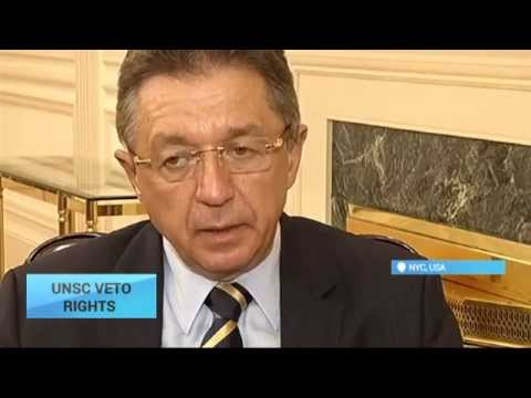 Exclusive Interview: Ukraine's UN Ambassador Yuriy Sergeyev sits down with Ukraine Today