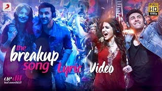 The Breakup Song Official Audio Ranbir Anushka Pritam Arijit I Badshah Jonita