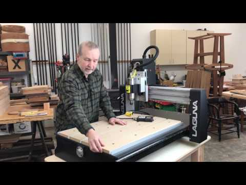 Digital Woodworking CNC Review: The Laguna IQ: Part One