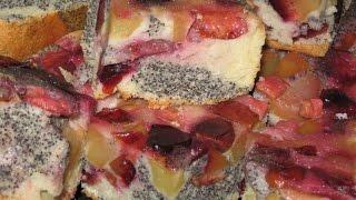 Как приготовить Королевский сливовый пирог