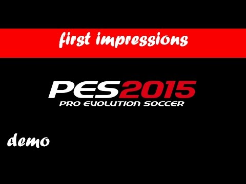 PES 2015 PS3 DEMO | MADRID DERBY | FIRST IMPRESSIONS
