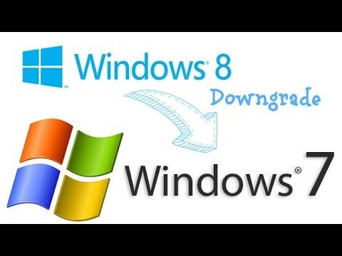 Desinstalar Windows 8 e instalar Windows 7