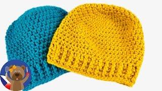 DIY zimní čepice -  návod, jak si sami upletete čepici - 50-54 cm