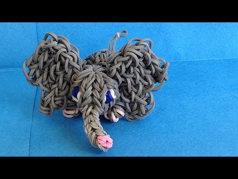 Loom Bands 3D Elephant Charm (Rainbow Loom Animals)