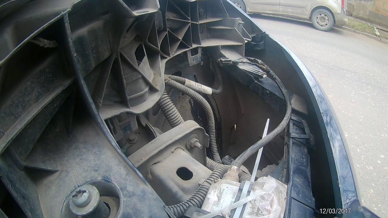 Установка ксенона на форд фокус 3 своими руками 61