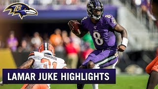 Best Lamar Jackson Jukes So Far This Season | Baltimore Ravens