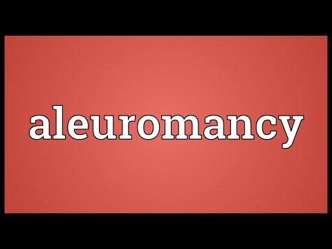 Header of aleuromancy