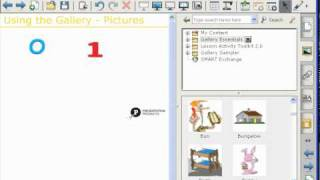 Using the Gallery - SMART Notebook Software