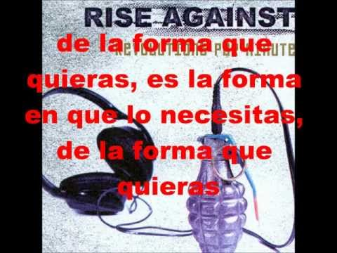 Rise Against Anyway You Want It Sub Español video