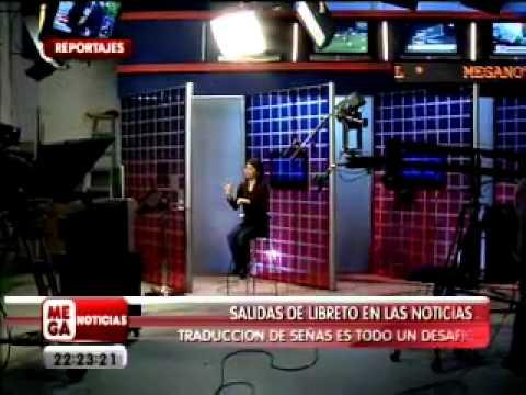 Compilado chascarros periodistas Meganoticias y extranjeros, 13/10/2011