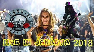Guns N' Roses - Slash's Solo - NOVEMBER RAIN - Live in Jakarta 2018