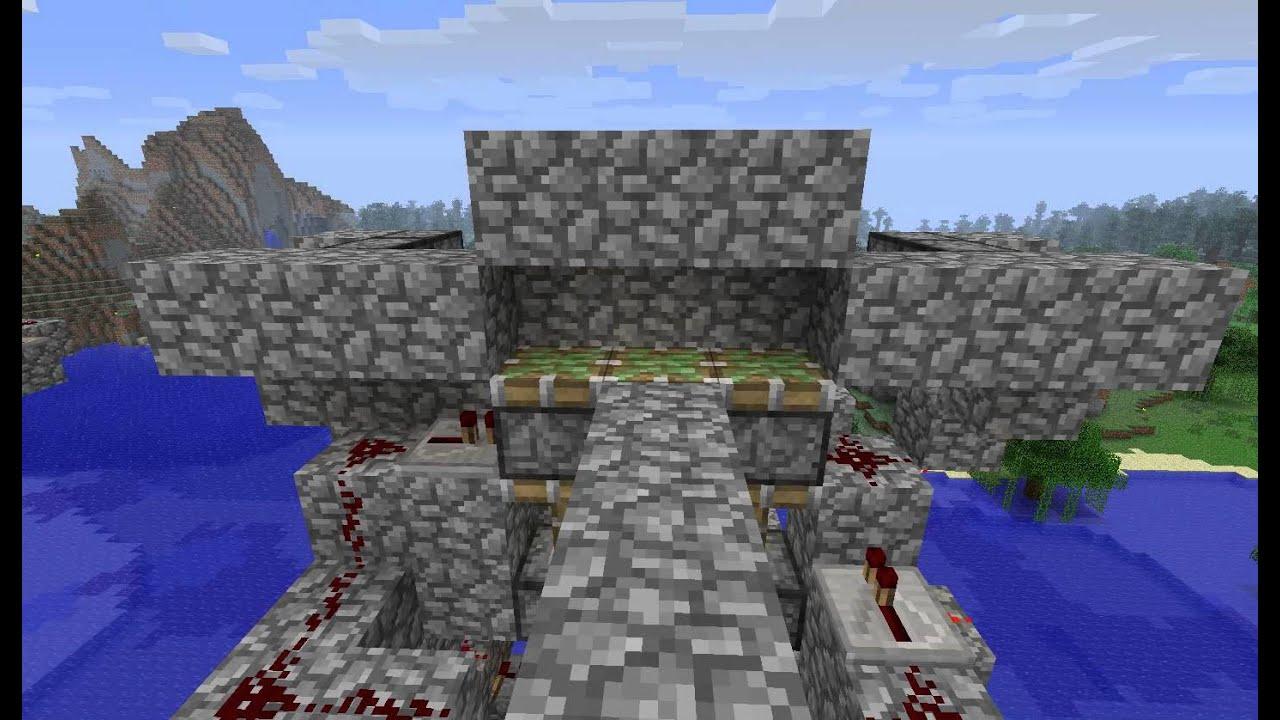 Piston Door 3x2 Piston Door With Schematic