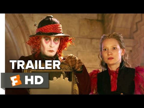 Alice Through the Looking Glass TRAILER 1 (2016) - Helena Bonham Carter, Johnny Depp Fantasy HD