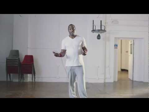 Lennox Lewis Boxing Training - Virgin Media Talent School Image 1