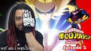 "My Hero Academia Episode 3 Reaction ""Roaring Muscles"" (Eng Dub Trial #2) MHA 1X3"