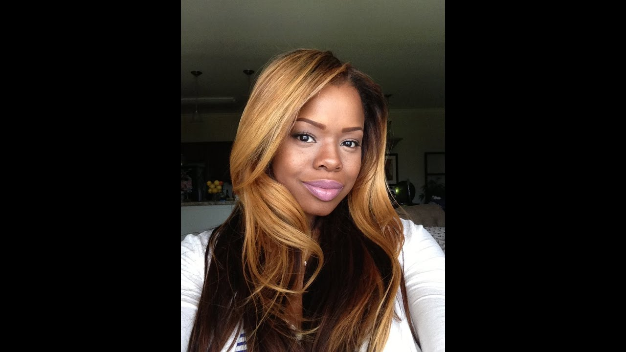 Bleaching Lace Closure And Extentions Blondes And Brown