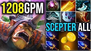Gold Digger [Alchemist] Everyone Gets Scepter With (1200+GPM Fast Radiance 7.18) | Dota 2 FullGame