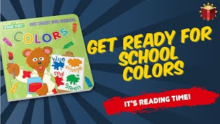 Sesame Street Get Ready For School Colors | Children's Book | Story Book | Kid Books |