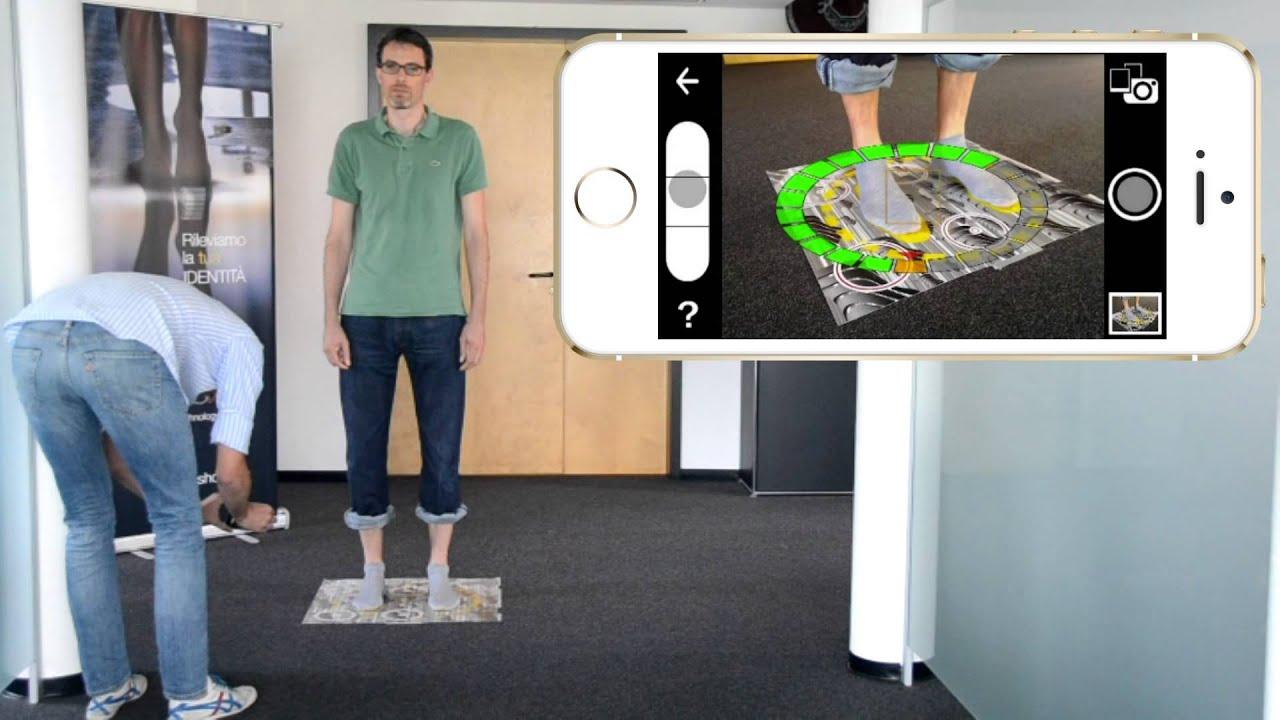 right shoes smartphonetablet 3d scanner app youtube. Black Bedroom Furniture Sets. Home Design Ideas
