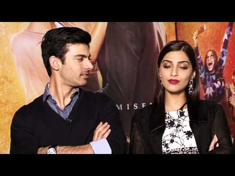 Khoobsurat: Fawad Khan & Sonam Kapoor Exclusive Interview - l