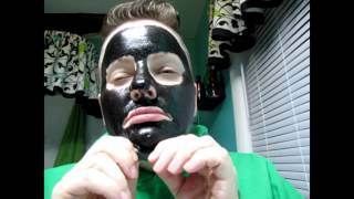 Black Mask Missing Eyebrow