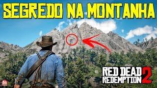 RED DEAD REDEMPTION 2 - UM SEGREDO SUPER BEM ESCONDIDO NA MONTANHA || ITENS ÚNICOS NO JOGO!