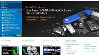 Atmel: Product Finder Introduction