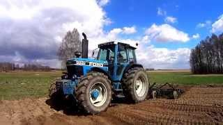 Uprawa i Siew 2015-New Holland M135,Ford 8630,2xUrsus(cultivation and seeding 2015)