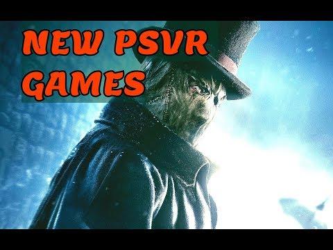 ALL PSVR Games Announced on E3 2018  🔥🔥🎮