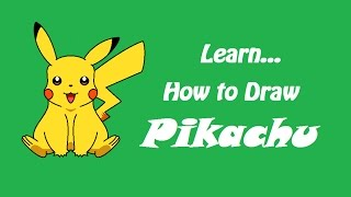 How to Draw Pikachu Pokemon | MS Paint | Easy (Using Mouse)