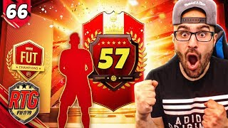 OMG MY 57TH IN THE WORLD REWARDS *AMAZING PROFIT* - FIFA 19 Ultimate Team RTG #62